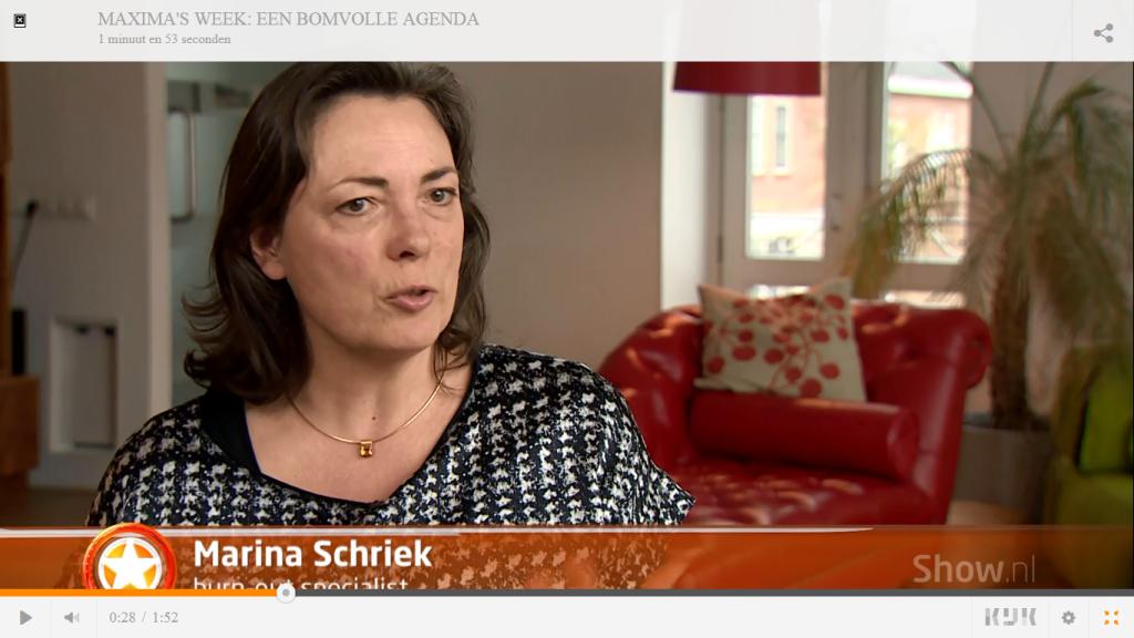 Intervieuw SBS6 de bomvolle agenda van Maxima en de kans op een burn-out